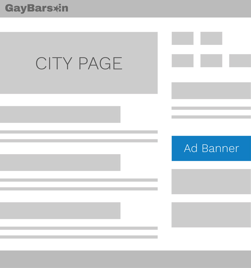 City Page Ad Placement Gay Bars
